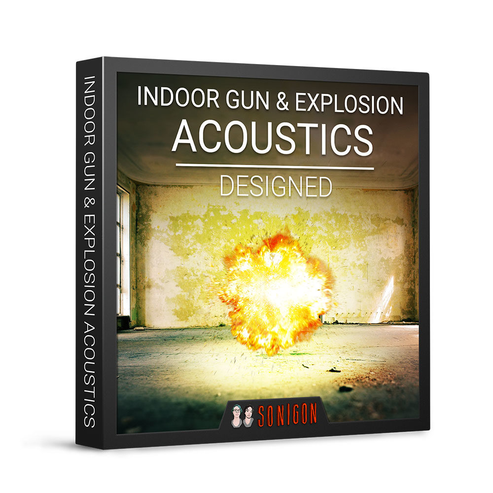 Indoor Gun & Explosion Acoustics Designed 1k