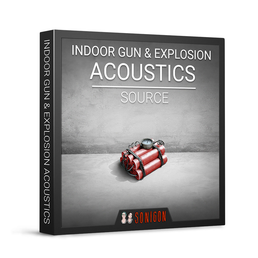 Indoor Gun & Explosion Acoustics Source 1k