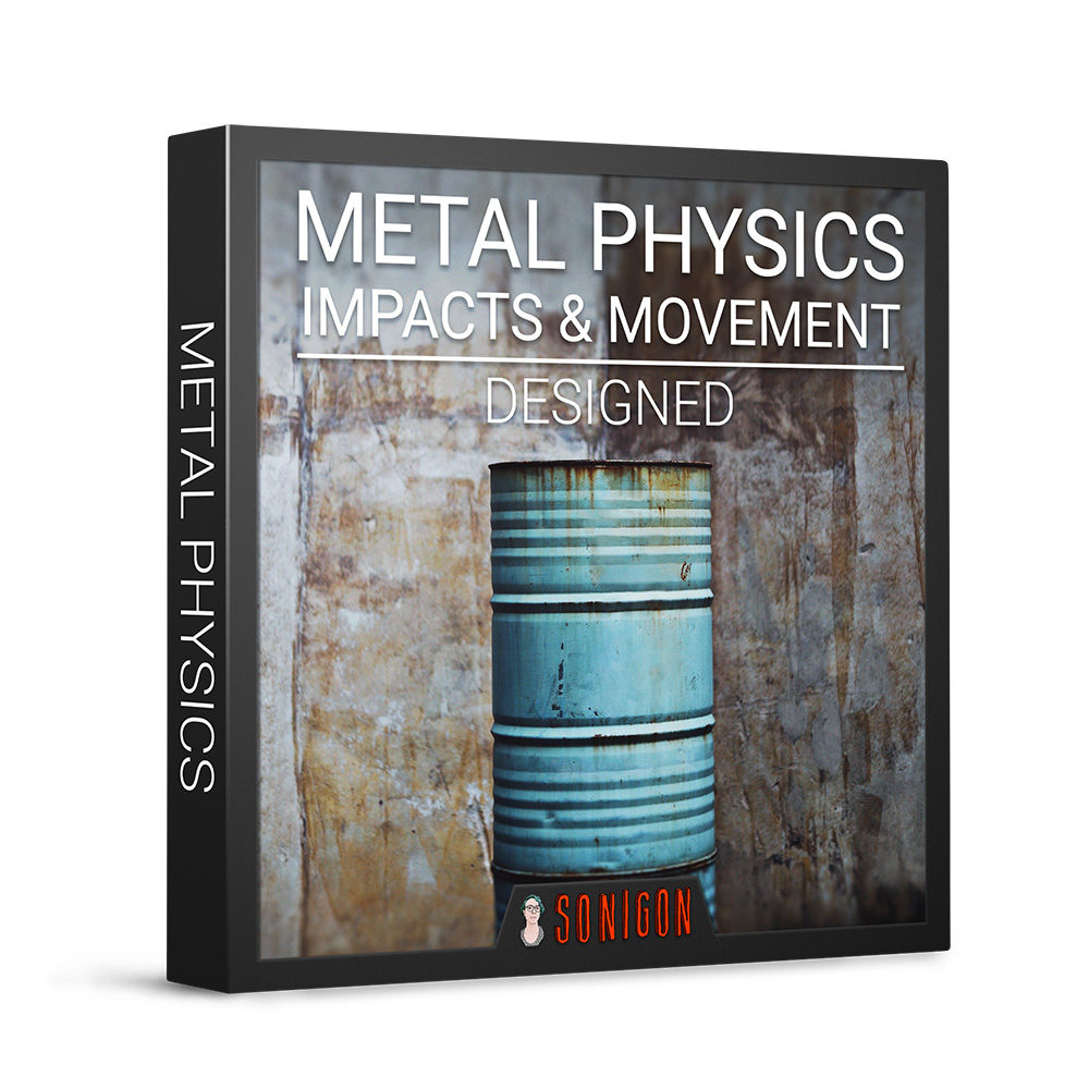 Metal Physics Impacts & Movement Designed 1k